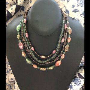 Necklace of many strands